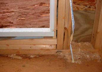 Atlanta moisture barriers in stucco windows