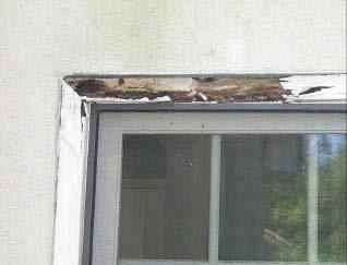 water window leaks in stucco systems